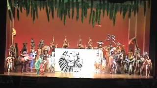 『ライオンキング』福岡公演1周年!(速報)