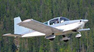 Grumman American AA-5 Tiger In Action