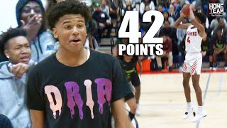Jalen Green Goes CRAZY In Playoff Game! 42 Point Performance