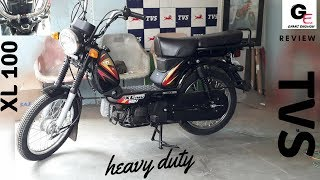 2018 TVS XL 100 with self start | usb charger | led drl | detailed review | features  !!!