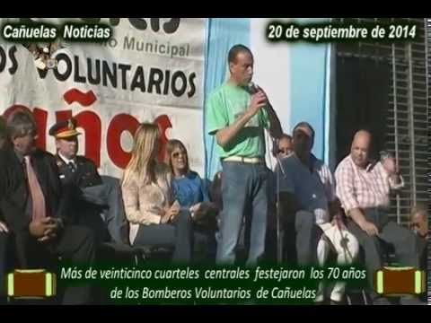 Bomberos Voluntarios de Cañuelas  cumplieron 70 años, 20 de Septiembre de 2014