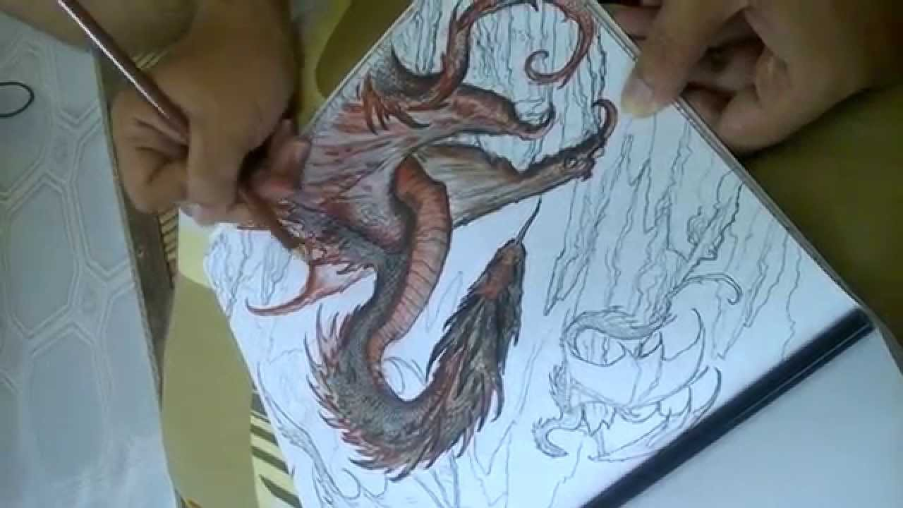 my brother coloring drogon game of thrones coloring book youtube - Game Of Thrones Coloring Book