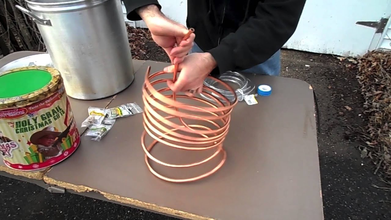 Make Your Own Immersion Wort Chiller in