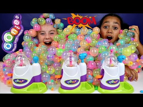 Thumbnail: Learn Colors With Oonies Balloons - Surprise Balloon Pop Challenge For Kids