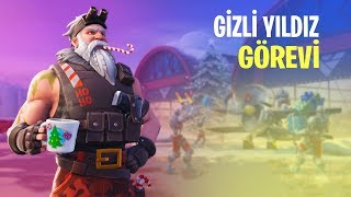 7. Season 3. THE TASK OF THE WEEK HIDDEN STARS | PROFITS FALL Mission (Fortnite Battle Royale Tasks Turkish)