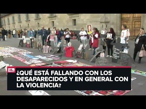Desapariciones en México y las movilizaciones en favor de las víctimas