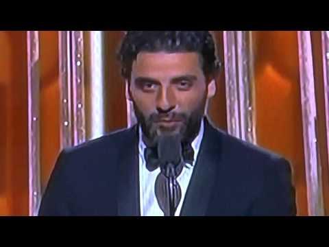 """Oscar Isaac, ganó un Globo de Oro por su participación en la miniserie """"Show me a Hero"""""""