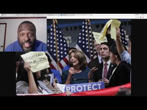 Nancy Pelosi press conference Bum Rushed - Uncle Hotep chimes in