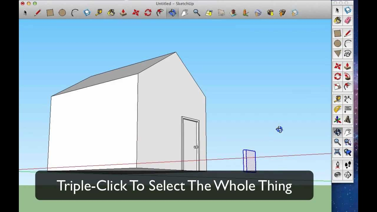 how to make a perspective in sketchup