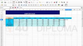 Fügen Sie in die Zelle L5 des Arbeitsblattes (Tabelle) SALES die passende Formel ein, die den...