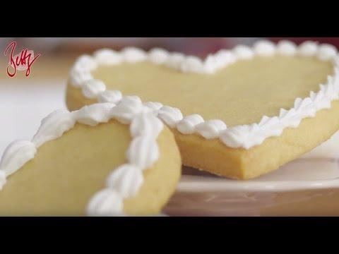 Muschelbordüren spritzen   Betty´s Sugar Dreams