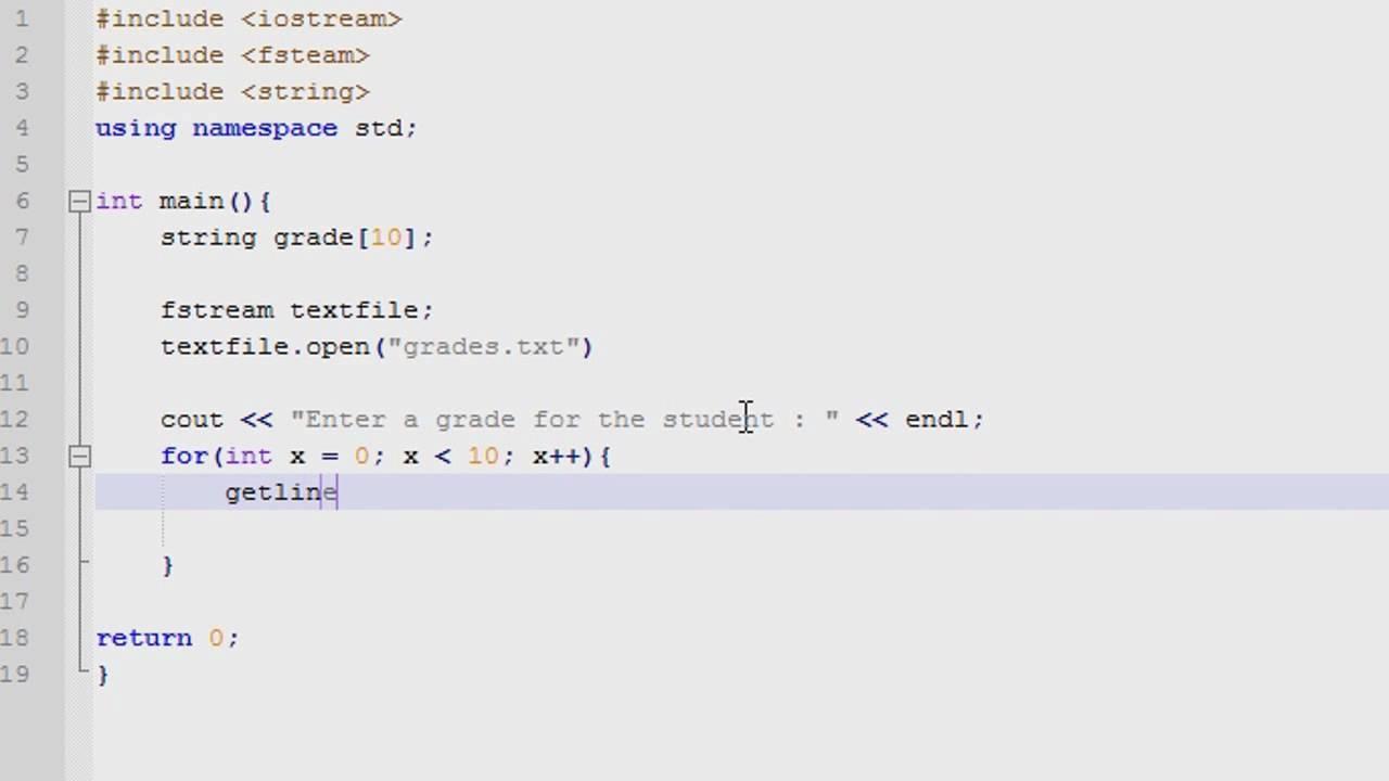 How to write output 48