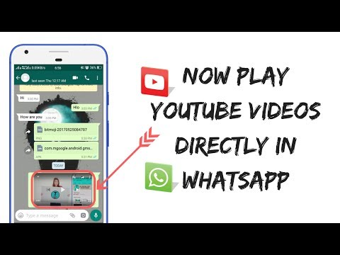 How To Play Youtube Videos Directly In Whatsapp - 100% Proof