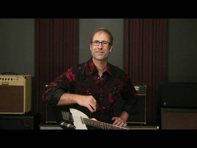 Blues Guitar Soloing - Where To Bend Notes In Blues Scale Boxes