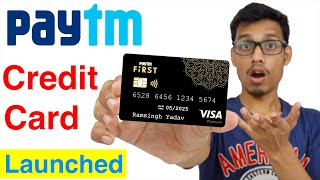 How to get Paytm First credit card