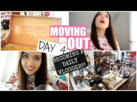 MOVING OUT : Day 4 | Becoming A Daily Vlogger!? | PlanetGabb ♡