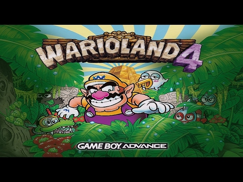 TAS (GBA) Wario Land 4 - Super Hard (All Discs & No Damage)
