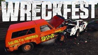 Wreckfest - Giant Truck Destruction - Demo Derby & Racing - Wreckfest Gameplay