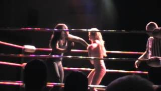 Ayesha Ray vs. Chardonnay. All Star Wrestling. Fairfield Halls, Croydon. 21/11/14
