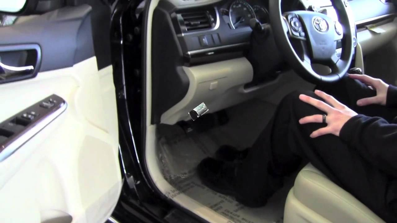 2012 Toyota Camry Hood Release How To By Toyota