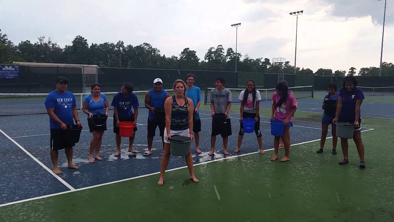 New Caney Tennis Als Ice Challenge Youtube
