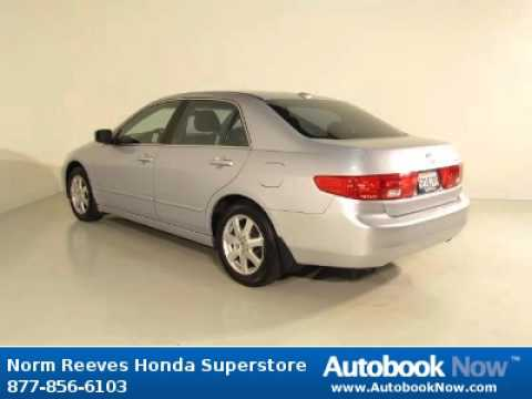 2005 honda accord with navi ex l in cerritos ca for sale youtube. Black Bedroom Furniture Sets. Home Design Ideas
