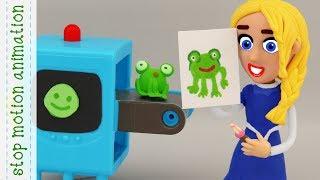 Elsa's 3D printer
