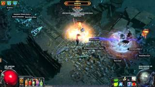 Path of Exile - Frozen Orb Duelist (video 2)