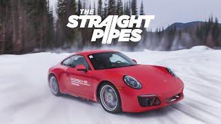 Porsche Camp4 IceExperience - Winter Drifting Porsche 911