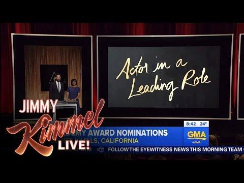 Jimmy Kimmel on Matt Damon's Oscar Nomination