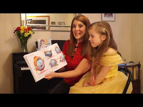 Carlie Wright reads 'The Rainbow Blots'