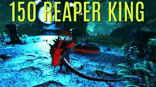 GETTING AND LEVELING A 150 REAPER KING! - Official PVP (E82) - ARK Survival