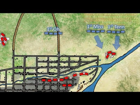 The Battle of Monterrey 1846 (animated battle map)