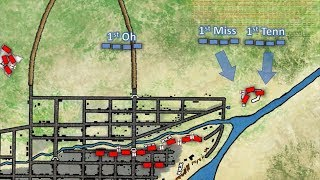 The Battle of Monterrey 1846 animated battle map