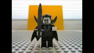 LEGO 9468 Monster Fighters Vampyre Castle Stop Animation Build Review
