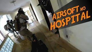 AIRSOFT no Hospital Abandonado | Base X O Jogo