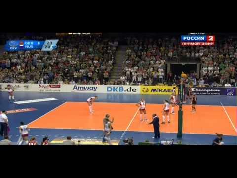 Волейбол ЧЕ Женщины Россия Германия Финал 14 09 2013 + награждение