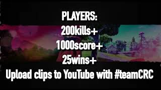 Team Colossal - Fortnite Recruitment Challenge *FORTNITE RC* (#TeamCRC)
