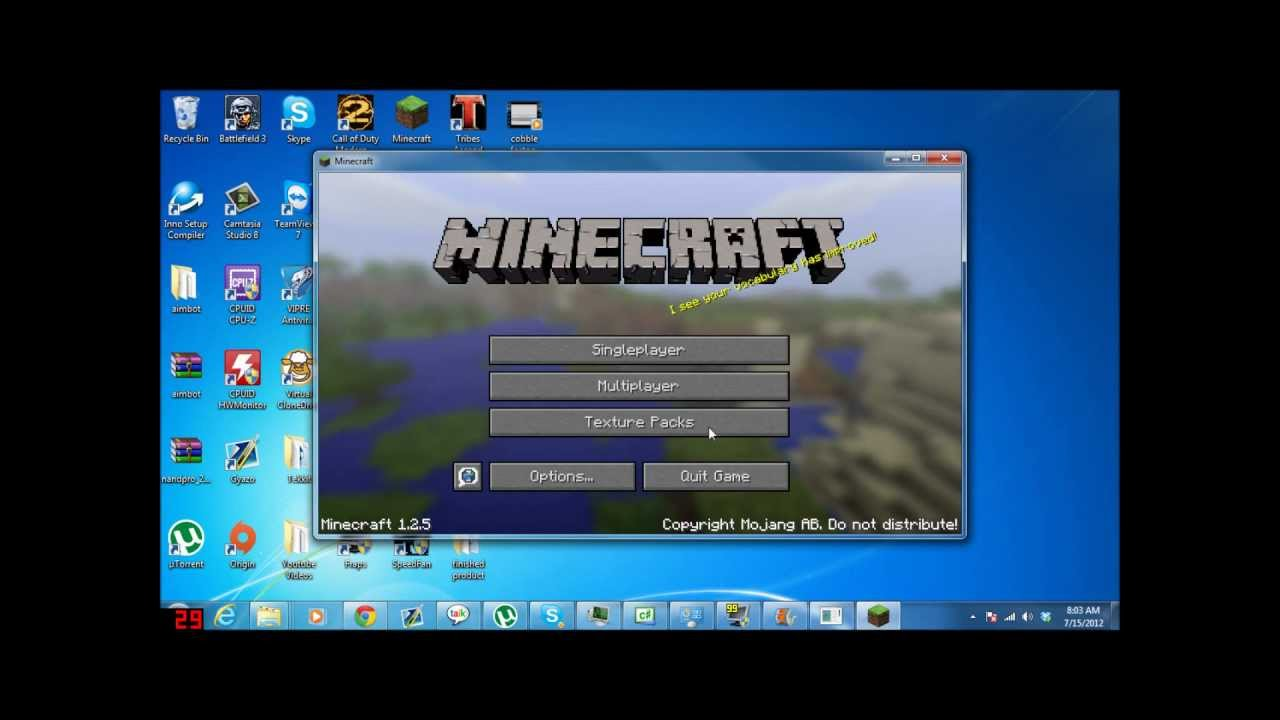 Minecraft Launcher - YouTube