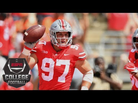 College Football Highlights: Ohio State routs Oregon State behind Nick Bosa, Dwayne Haskins | ESPN
