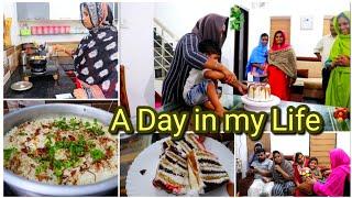 നാത്തൂനും മക്കളും ഉള്ള ഒരു ദിവസം|A Day in my Life|crab fry|cake preperation|Biriyani making|cleaning