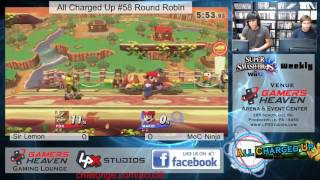 all charged up 58 round robin sir lemon fox vs ninja mario