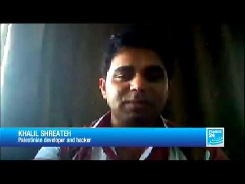 Facebook hacker: Tech 24 speaks to Khalil Shreateh