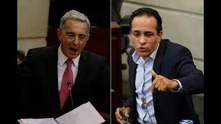"""Uribe acusa al senador Alexander López de """"patrocinar actos de terrorismo"""""""