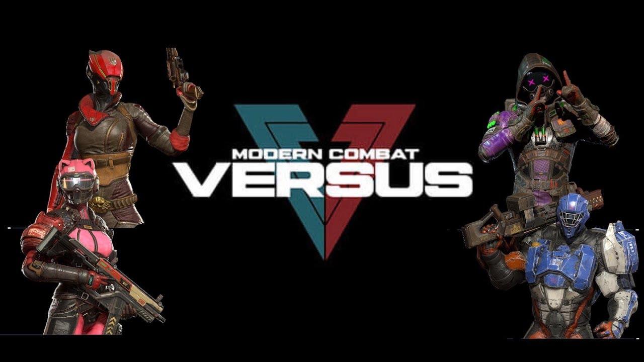 Download Modern Combat Versus/ Inicio 😎/ Josué el 21
