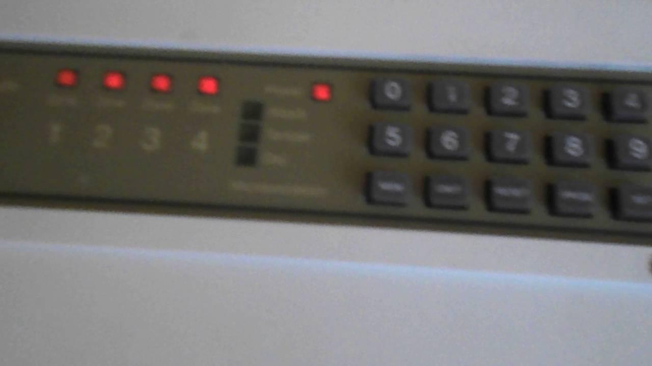 How To Change The Code On Optima Xm Burglar Alarm Control