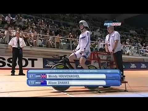 Melbourne World Cup individual Pursuit woman's elite 2010 keep support (cfi)