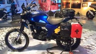 2016 Auto Expo_ Mahindra Mojo Adventure Tourer Concept first look