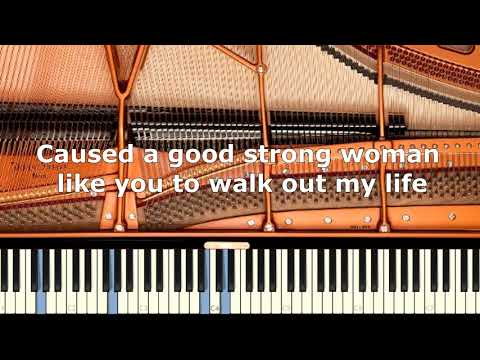Bruno Mars - When I was your man - Piano Karaoke / Sing Along / Cover with Lyrics