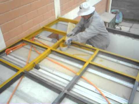 Construccion segundo piso como instalar ceramicas videos for Materiales para hacer un piso